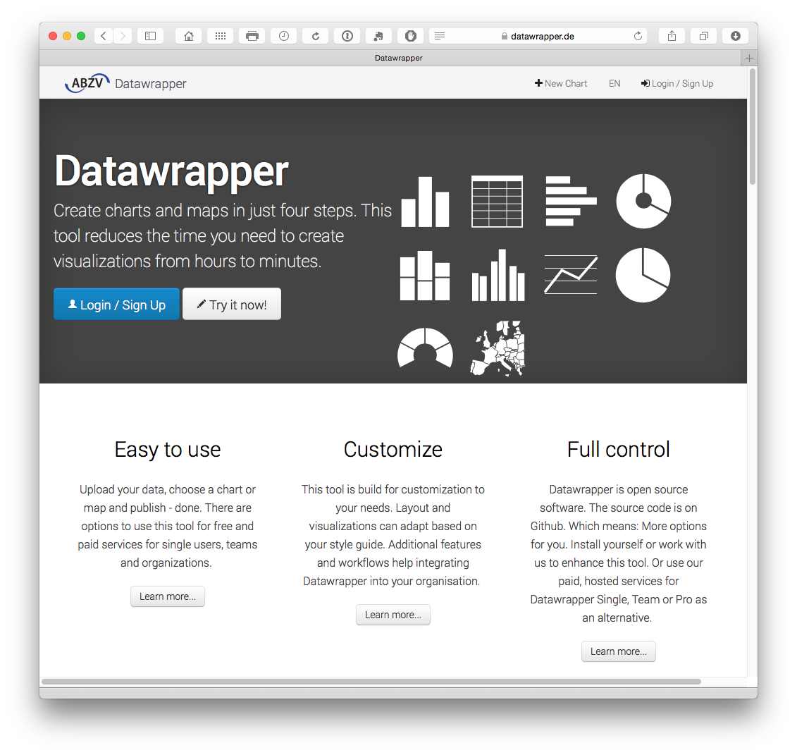 Widely Used By Big Newspapers And So The Graphics Will Seem Familiar Either Create An Account Or Fork The Source From Github Here